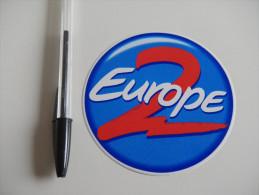 Autocollant - RADIO FM  - EUROPE 2 - Autocollants