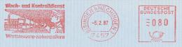 Freistempel 4304 Wach Und Kontrolldienst Mann Mit Taschenlampe - [7] Federal Republic
