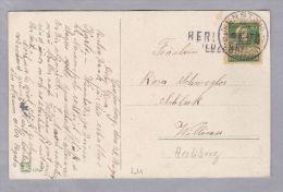 Heimat LU HERLIBERG (Luzern) 1923-08-28 Lang-stempel Auf AK Litho - Suisse