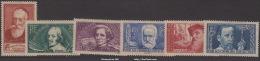 Série Chômeurs Intellectuels De 1938 Neuf * TB ( Y&T N° 380 à 385, Cote 45€) - Neufs