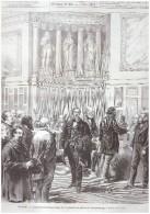 Gravure 1876   Les Elections Senatoriales     30 Janvier Au Palais Du Luxembourg Senat Senateur - Sin Clasificación