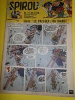 Album Illustré/Enfants/ Hebdomadaire Spirou/ N) 1075/Editions J DUPUIS / 1958                  BD42 - Bücher, Zeitschriften, Comics