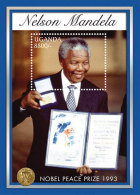 Uganda-Famous People-President Nelson Mandela In Memoriam - Famous People