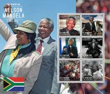 St. Vincent & Grenadines-Famous People-President Nelson Mandela In Memoriam - Célébrités