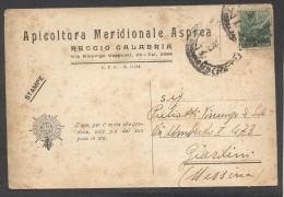 6337-REGGIO CALABRIA-APICOLTURA MERIDIONALE ASPREA-LISTINO PREZZI-1947-FG - Reggio Calabria