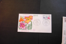 France 1244 Flower Show Paris Flora Irises With Day Of Issue Cancel 1969 A04s - FDC