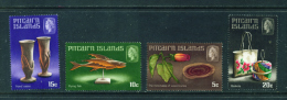 PITCAIRN ISLANDS - 1968  Handicrafts  Mounted Mint - Stamps