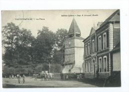 CPA - Tortefontaine - La Place - Frankrijk
