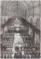 Gravure Ancienne  1876   Catastrophe Du Puits Jabin  3  Funerailles  Mine Mineur Charbon Houillere Saint Etienne Charbon - Vecchi Documenti