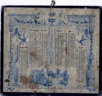 CALENDRIER DE 1847 FORMAT  17.50 X 15 CM - Calendari
