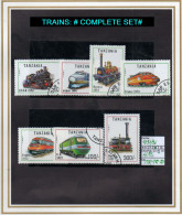 THEMATICS: MODERN/OLD TRAINS/ COMMEMORATIVES (TTR-192) (20) - Trains