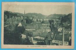 C.P.A. Luxembourg - Grund - Cheminéec D'Usine - Luxembourg - Ville