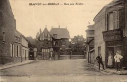 76 Blangy Sur Bresle. Rue Aux Saules - Blangy-sur-Bresle