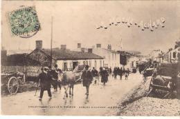 CPA .LA MOTHE ACHARD ...TRES ANIME ... 1906  ..SCAN . - La Mothe Achard