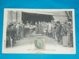 75) Petits Métiers - Paris  - 1ém - N° 2 - Les Halles Centrales Le Matin - Année 1911 - EDIT - BF - Petits Métiers à Paris