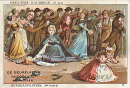 Chromo Chocolat De Beukelaer Anvers Theatre Princesse D'auberge - Unclassified