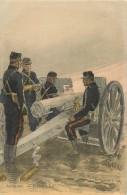 Réf : TO-14 -0134  :  Artillerie Par Maurice Toussaint école à Feu - Uniformi