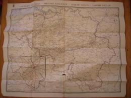 Plan Et Carte Inventaire Des Cimetières Militaires De Belgique Entre Deux Guerre ? - Documents