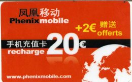 @+ Recharge PhenixMobile 20€ (France) - Frankrijk
