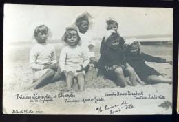 Cpa Carte Photo Princes Leopold Et Charles De Belgique ...  Ostend Photo   BOR1 - Familles Royales