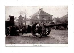 Militaria , Canon Anglais - War 1914-18
