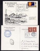 1966 And 1971 Postal History Society Souvenir Covers With Special Cancels Etc See Scans - Covers & Documents
