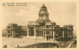 Alte Ansichtskarte Aus Belgien Mit Dem Motiv: Bruxelles - Palais De Justice - Monuments, édifices