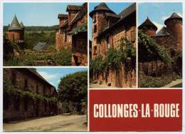 Carte Postale Moderne Corrèze 19 - Collonges La Rouge - France