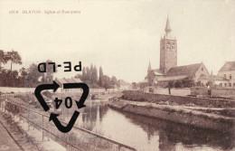 BLATON - Eglise Et Panorama - Bernissart