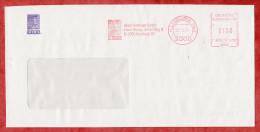 Brief, Francotyp-Postalia F81-6767, Aldus Software, Portraet, 100 Pfg,  Hamburg 1991 (48862) - Briefe U. Dokumente