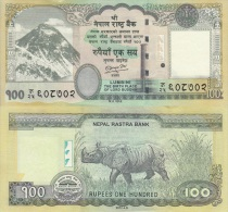 NEPAL 100 RUPIAS 2.012 2012 A.D.(Issued On October 2.013) SC/UNC/PLANCHA   T-DL-10.567 - Nepal