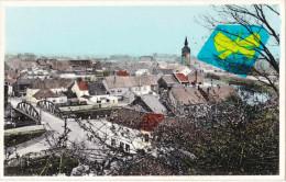 BLATON - Panorama - Carte Glacée Et Colorée - Bernissart