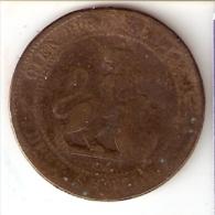 MONEDA DE ESPAÑA DE 10 CTS DEL AÑO 1870 (COIN) GOBIERNO PROVISIONAL - [ 1] …-1931 : Reino