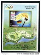 AJMAN  Munich Games Site - Summer 1972: Munich