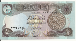 IRAQ 1/2 DINAR 1985 UNC P 68