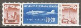 ROUMANIE - 1948 -  P.A N° 50 ** - Posta Aerea