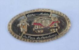 Pin's  Doré RETRO MOBILE Du PAYS DE SARREBOURG - Voiture Et Moto - D580 - Unclassified
