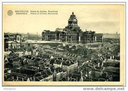 BRUXELLES - Palais De Justice Panorama Du Grand Sablon  Non Circulée - Panoramische Zichten, Meerdere Zichten