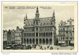 BRUXELLES - Maison Du Roi Et Marché Aux Fleurs  Non Circulée - Markten