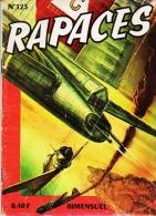 RAPACES  No 125  Petit Format - Rapaces