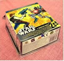 Attacktix Star Wars - 2 Booster Pack Actionfiguren  -  Neu - Power Of The Force