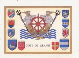 COTE DE GRANIT - ARMOIRIES - CPM - TREGASTEL - PERROS-GUIREC - TREGUIER - LANNION - PLESTIN-LES-GREVES - PAIMPOL -...... - France