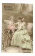 Cp, Anges, Bonne Année, Voyagée 1903 - Anges