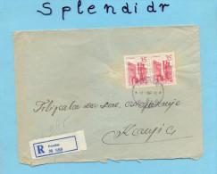 BOSNIA-POSUSJE To KONJIC-Rec.cover No 958-1959 - Covers & Documents
