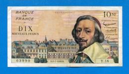 10  Fr 2/7/1959 - 10 NF 1959-1963 ''Richelieu''