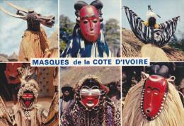 AFRIQUE DE L´OUEST,africa,arika,cote ,COTE D´IVOIRE,ex AOF,colonie Française,MASQUE,MASQUES, SORCIER,MAGIE NOIRE - Côte-d'Ivoire