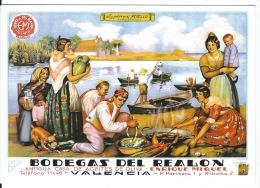 CPSM  Espagne  Publicité  BODEGAS DEL REALON - Publicité
