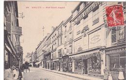 23134 MELUN - Rue Saint-Aspait - 38 Galeries Melunaises - Boulangerie Bazrd Boutellerie Desbordes -menage Pitois