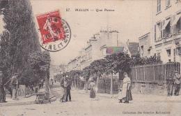 23138 MELUN -quai Pasteur -57 Coll Galeries Melunaises - Femme Brouette