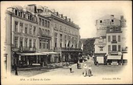 Cp Spa Lüttich, L'Entrée Du Casino, Hotel Hotermans, Straßenpartie - Autres